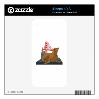 San Francisco Seals Skins For iPhone 4