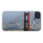 San Francisco seen trough Golden Gate Bridge. iPhone 4 Case