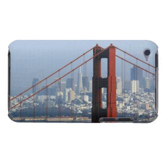 San Francisco seen trough Golden Gate Bridge. iPod Touch Cover