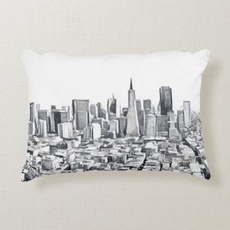 San Francisco SF Citiscape Accent Pillow