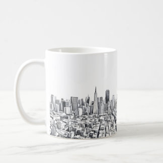 San Francisco SF Citiscape Photograph Coffee Mug