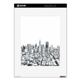 San Francisco SF Citiscape Photograph iPad Skins