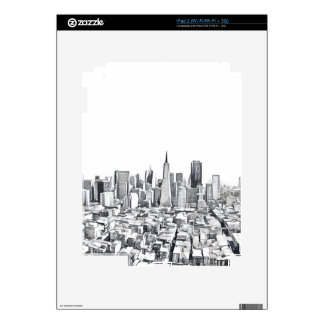 San Francisco SF Citiscape Photograph Skin For The iPad 2