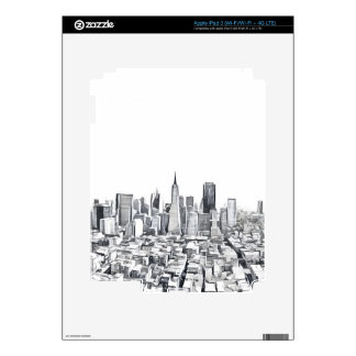 San Francisco SF Citiscape Photograph Skins For iPad 3