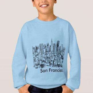 San Francisco SF Citiscape Poleras