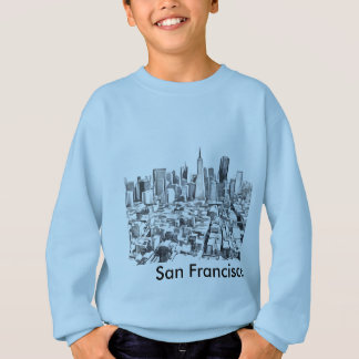 San Francisco SF Citiscape Sweatshirt