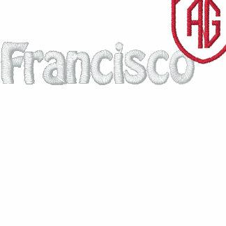 San Francisco Sherpa-alineó sudadera con capucha