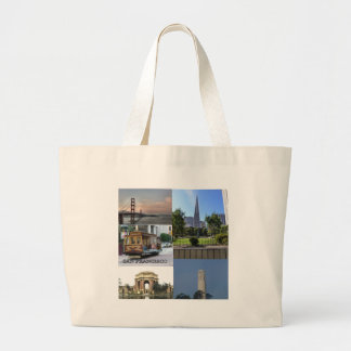 San Francisco Sites #4 Large Tote Bag