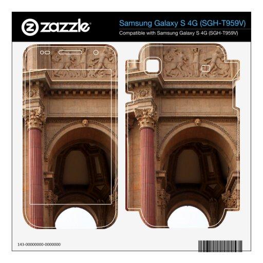San Francisco Samsung Galaxy S 4G Skins