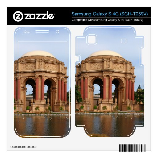 San Francisco Samsung Galaxy S 4G Decal