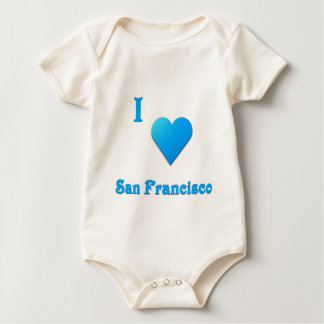 San Francisco -- Sky Blue Baby Bodysuit