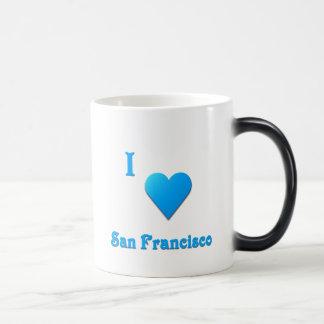 San Francisco -- Sky Blue Magic Mug