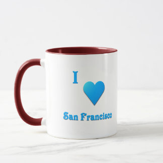 San Francisco -- Sky Blue Mug