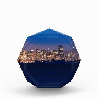 San Francisco Skyline at Dusk Acrylic Award