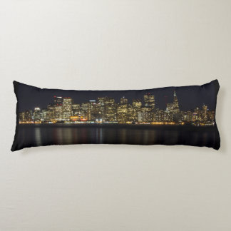San Francisco Skyline at Night Body Pillow