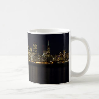San Francisco Skyline at Night Coffee Mug