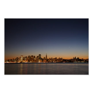 San Francisco Skyline at Sunset Posters