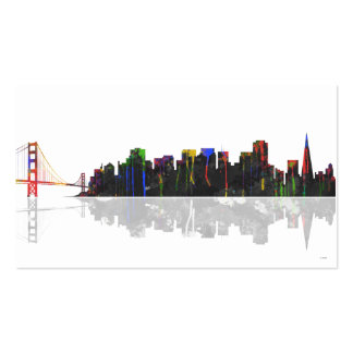 San Francisco Skyline Double-Sided Standard Business Cards (Pack Of 100)