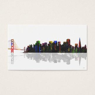 San Francisco Skyline Business Card