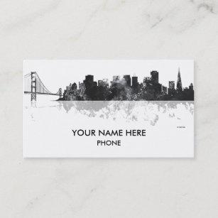 san francisco skyline business cards - Business Cards San Francisco