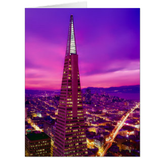 San Francisco Skyline Card