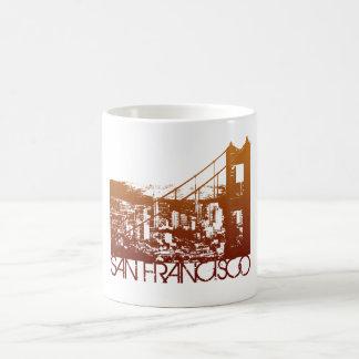 San Francisco Skyline Design Coffee Mug
