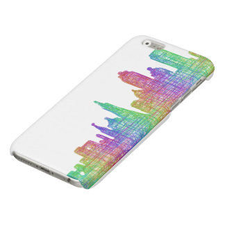 San Francisco skyline Glossy iPhone 6 Case