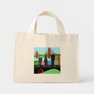 San Francisco Skyline Illustration Bag