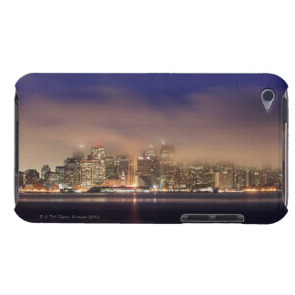 San Francisco skyline in fog at night. Case-Mate iPod Touch Case