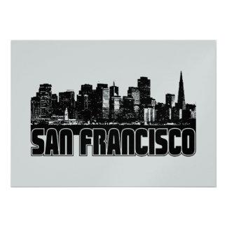 San Francisco Skyline Invitations