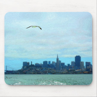 San Francisco Skyline -- Mouse Pad