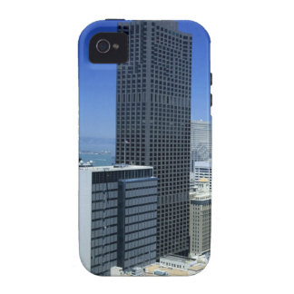 San Francisco Skyline of Financial District Vibe iPhone 4 Cover