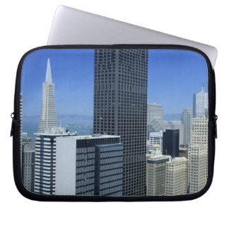 San Francisco, Skyline of Financial District Computer Sleeve