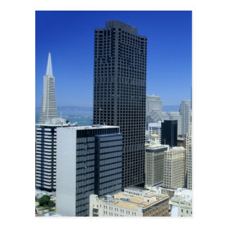 San Francisco, Skyline of Financial District Postcard