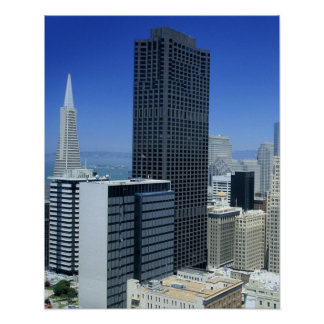 San Francisco, Skyline of Financial District Poster
