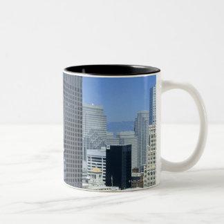 San Francisco, Skyline of Financial District Two-Tone Coffee Mug