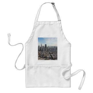 San Francisco Skyline Panorama Adult Apron