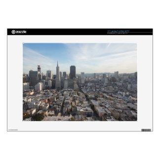 San Francisco Skyline Panorama Skins For Laptops