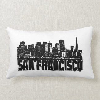 San Francisco Skyline Pillow