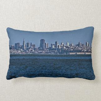 San Francisco skyline Throw Pillows
