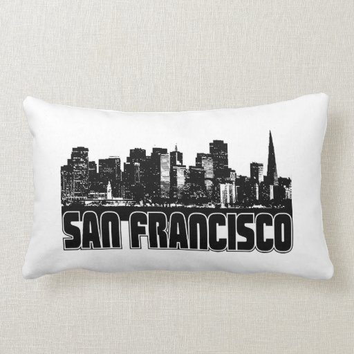 San Francisco Skyline Pillows