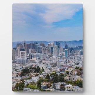 San Francisco Skyline Plaque