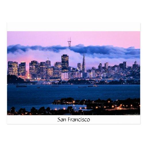 San Francisco Skyline Post Card