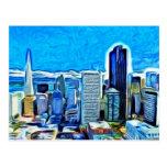 San Francisco Skyline Post Cards