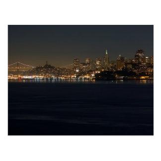 San Francisco Skyline Postcard