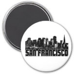 San Francisco Skyline Refrigerator Magnet