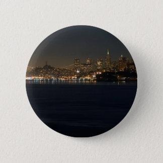 San Francisco Skyline Seen From Across The Bay Button