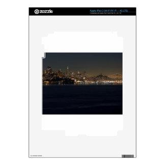 San Francisco Skyline Seen From Across The Bay iPad 3 Skin