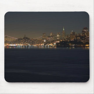 San Francisco Skyline Seen From Across The Bay Mouse Pad