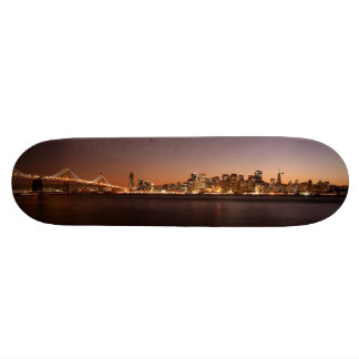 San Francisco Skyline Skate Board Deck